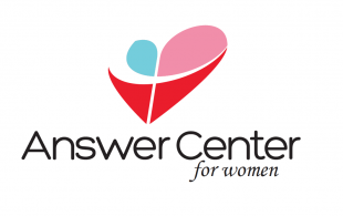 logo for women's answer center